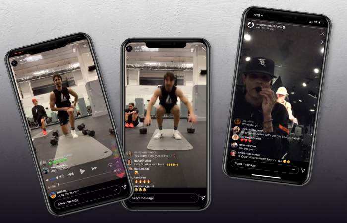 Instagram Workout - exercise