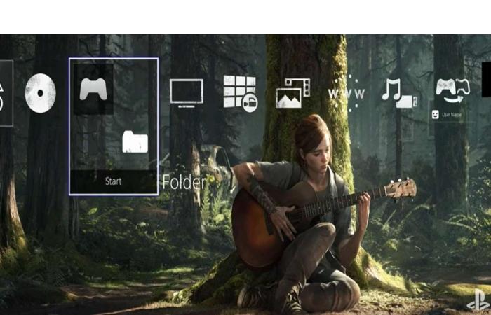PS4 Last of Us theme