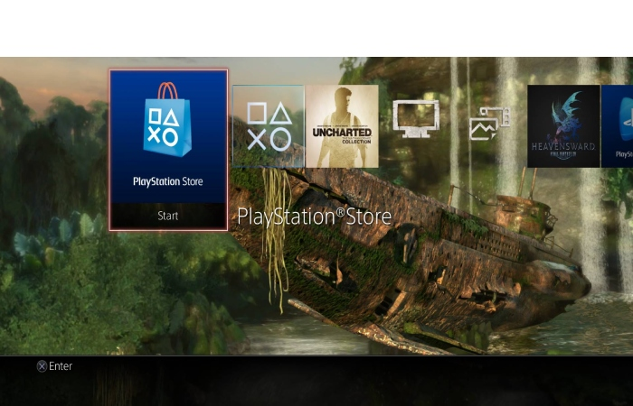 Uncharted PS4 theme