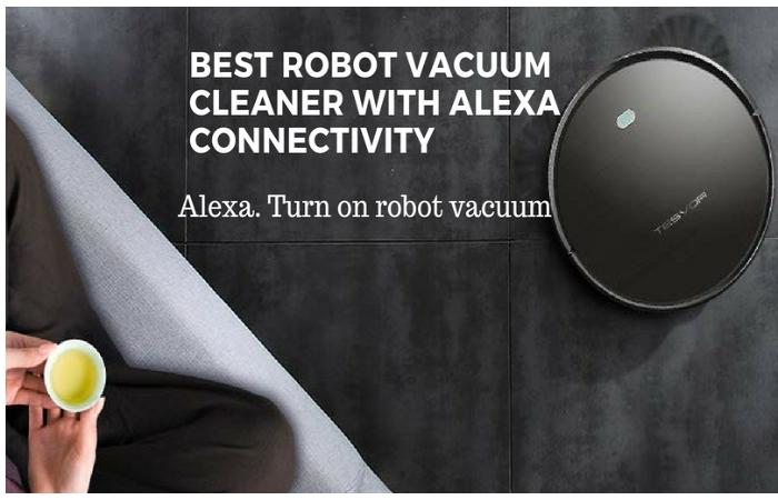 ROBOT VACUUM CLEANER ALEXA
